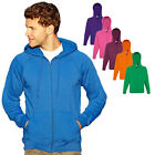 Fruit of the Loom Kapuzen Sweatjacke Kapuzenpullover Hoodie Sweatshirt