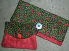 GIFT SETS Handmade Checkbook Cover and Wallet