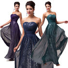Hot Gorgeous Ladies Formal Party Cocktail Prom Ball Gown Evening Wedding Dresses