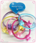 5 pcs of Cute Girl Hair Ties Band Ponytail Holder Multicolor Headband -FREE POST
