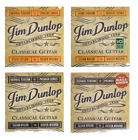 DUNLOP CLASSICAL ACOUSTIC GUITAR STRINGS concert premier nylon silver gauges