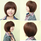 New Cool Fashion Style Party Wig Women/Girls Bob Short Straight Hair Full Wigs