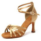Brand New Women's Ballroom Latin Tango Dance Shoes heeled Salsa 9 Colors 217-S-W