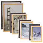 Wood Look Picture Photo Frame Aperture Free Standing Wall Mountable Certificate