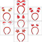 Cute Christmas Charms Snowflake Hairband Headband Hat XMAS Party Decoration New