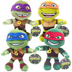 "TEENAGE MUTANT NINJA TURTLES 8"" SOFT PLUSH TOYS OFFICIAL MOVIE GIFT TOY NEW"