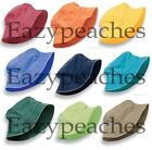 PEACHES - UNISEX DYED BUCKET CAP, Men's, Womens, Adams Packable 100 COTTON Hat