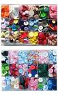 Buttons mixed lots of colours choices 75g larger size bags available