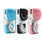 New Mini Cute Portable Rotation Hand Held USB/Battery Air Conditioner Cooler Fan