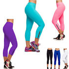Sexy Womens Candy-Colored Slim Fitness Yoga Casual Sport Pants Leggings Running