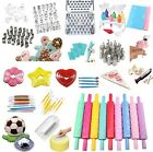 Home Family Fondant Cutter Cake Embossed Birthday Paste Decorating Cutter Set