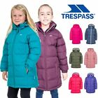 Trespass Tiffy Girls Winter Coat Padded Casual Longer Length & Insulated Jacket