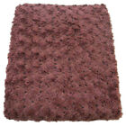 Bedford Cottage Rose Petal Faux Fur Throw