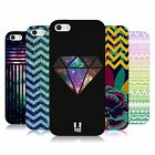 HEAD CASE TREND MIX TPU GEL BACK CASE COVER FOR APPLE iPHONE 5S
