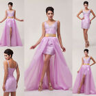 New Formal Long Evening Ball Gown Party Prom Bridesmaid Dress Stock Size 6-20