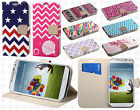 Samsung Galaxy S4 S IV Premium Leather Wallet Pouch Flip Cover + Screen Guard