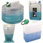 Highlander Water Carriers Full Range Flat Pack Jerry Can Roll Up Camping