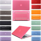 "Hard Frosted Matt Laptop Case Cover Shell for MacBook Air Pro 11""13""15 Retina UK"