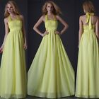 NEW STOCK Lemo Wedding Long Evening Dress Bridesmaid Party Prom Ball Gowns 6-16+