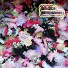 Assorted Floral Appliques Scrapbooking Sewing Craft Timming JM000