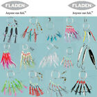 MACKEREL FEATHERS BASS COD POLLOCK LURE SEA FISHING RIG TACKLE BOAT BEST SELLERS