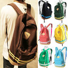 GIRL WOMEN PIG NOSE BACKPACK STUDENT SCHOOL BAG CANVAS TRAVEL RUCKSACK KOREAN