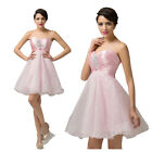 Short Formal Ball Cocktail TUTU Evening Wedding Bridesmaid Prom Dancing Dress GK
