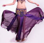 New Belly Dance Skirt Performance Practice Long Fishtail Skirt/Dress 11 colors