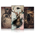 HEAD CASE DESIGNS POLY SKETCH CASE COVER FOR SONY XPERIA M2
