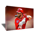 Washington Nationals BRYCE HARPER Poster Photo Painting Artwork CANVAS Wall Art on Ebay