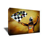 NASCAR Sprint Cup KYLE BUSCH Poster Photo Painting Artwork on CANVAS Wall Art