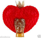 Red Queen of Hearts Wig Disney Licensed Elope 2515