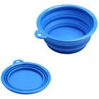 Colorful Dog Cat Travel Bowl Dish Silicone Collapsible Portable Bowl Feeder New