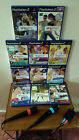Playstation PS2 SingStar Microphones & Games - Choose from Menu Great Party Fun!