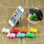 Lots Mobilephone Holder Stands Suction Plunger Pigs For iPhone 4 5 Galaxy S3 S4