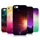 HEAD CASE PRINTED STUDDED OMBRE TPU GEL BACK CASE COVER FOR APPLE iPHONE 5S