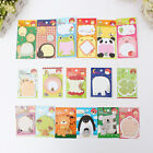 2PCS Cute Kawaii Animal Novelty Sticky Note Memo Pad Label Post It Gift 18 Style