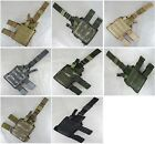 New Molle Utility Drop Leg Holster 7 Colors--Airsoft