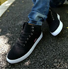 New Fashion Men's Spring Autumn Suede Lace up Sneakers Casual Warm Canvas Shoes