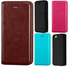 For Apple iPhone 5 5S Premium Wallet Case Pouch Flap STAND Cover Accessory