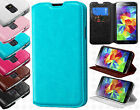 For Samsung Galaxy S5 Premium Wallet Case Pouch Flap STAND Cover Accessory