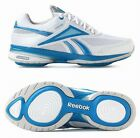 REEBOK EASYTONE REENEW AIR CUSHIONED TRAINERS SNEAKERS SHOES white/blue UK 3.5