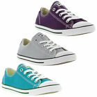 Converse Chuck Taylor Dainty Oxford Womens Canvas Lace Up Shoes Sizes UK 4 - 8