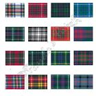 Berisfords 10mm Tartan Ribbon Choice of 16 Colours, Choose Length - Free UK Post