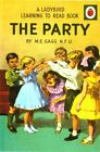 Vintage Ladybird Book Cover The Party Poster A3/A2/A1 Print