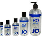 System Jo H2O Water Based Personal Sex Lubricant Lube - All Sizes