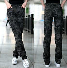 Camouflage Military Army Fashion Cargo Pocket Pants Leisure Trousers Outdoor