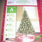 6.5' Madison Pine Christmas Tree Pre-Lit 400 Clear or Multi- Colored Mini Lights