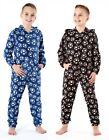 Boys Teens Football Hooded All In One Pyjamas ✔Onesies✔Jumpsuits✔Sleep Suits