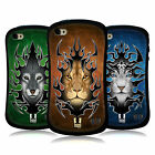 HEAD CASE DESIGNS TRIBAL ANIMALS HYBRID TPU BACK CASE FOR APPLE iPHONE 4S